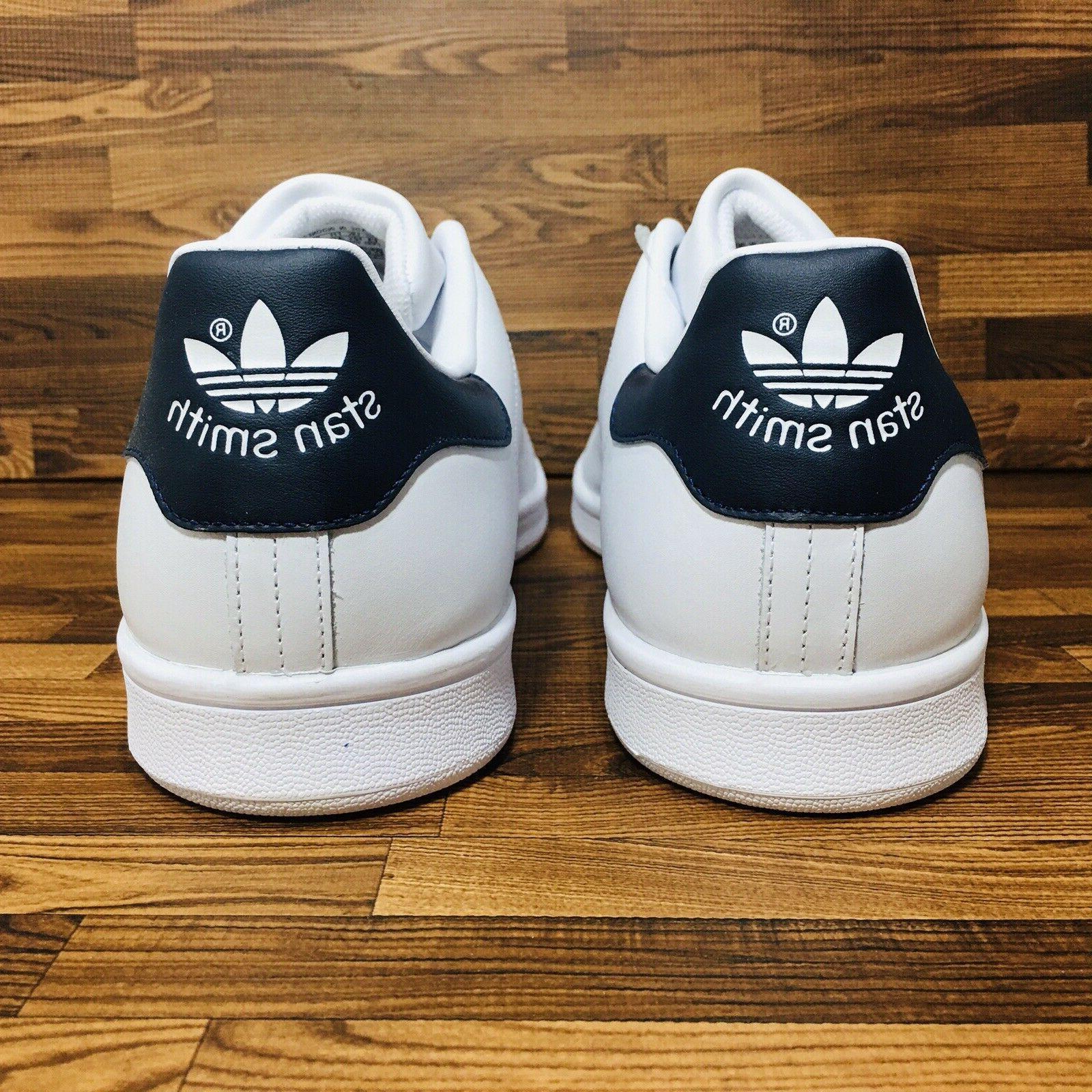 Adidas Originals Men's Casual Sneaker White Blue