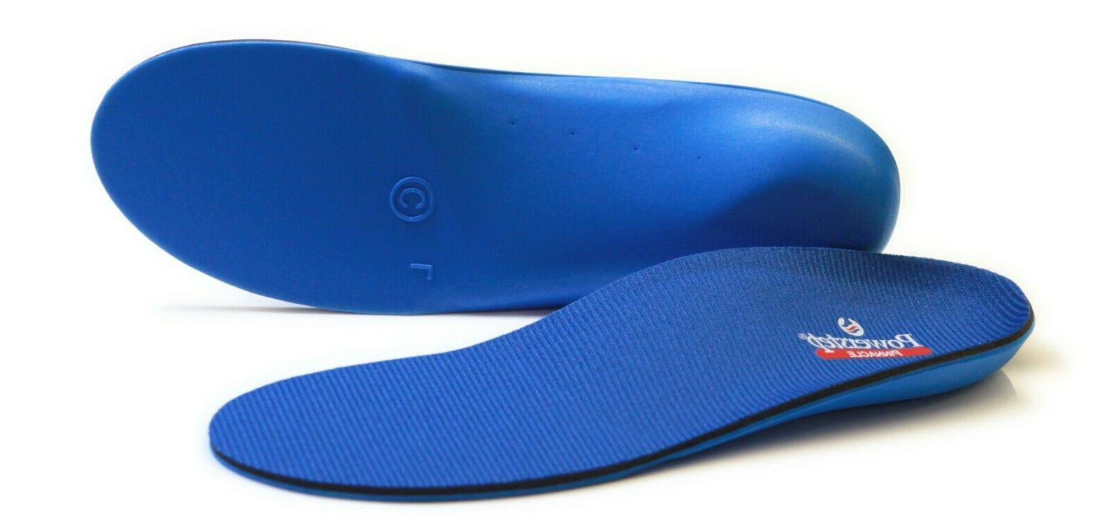pinnacle insoles orthotics compared to protech full
