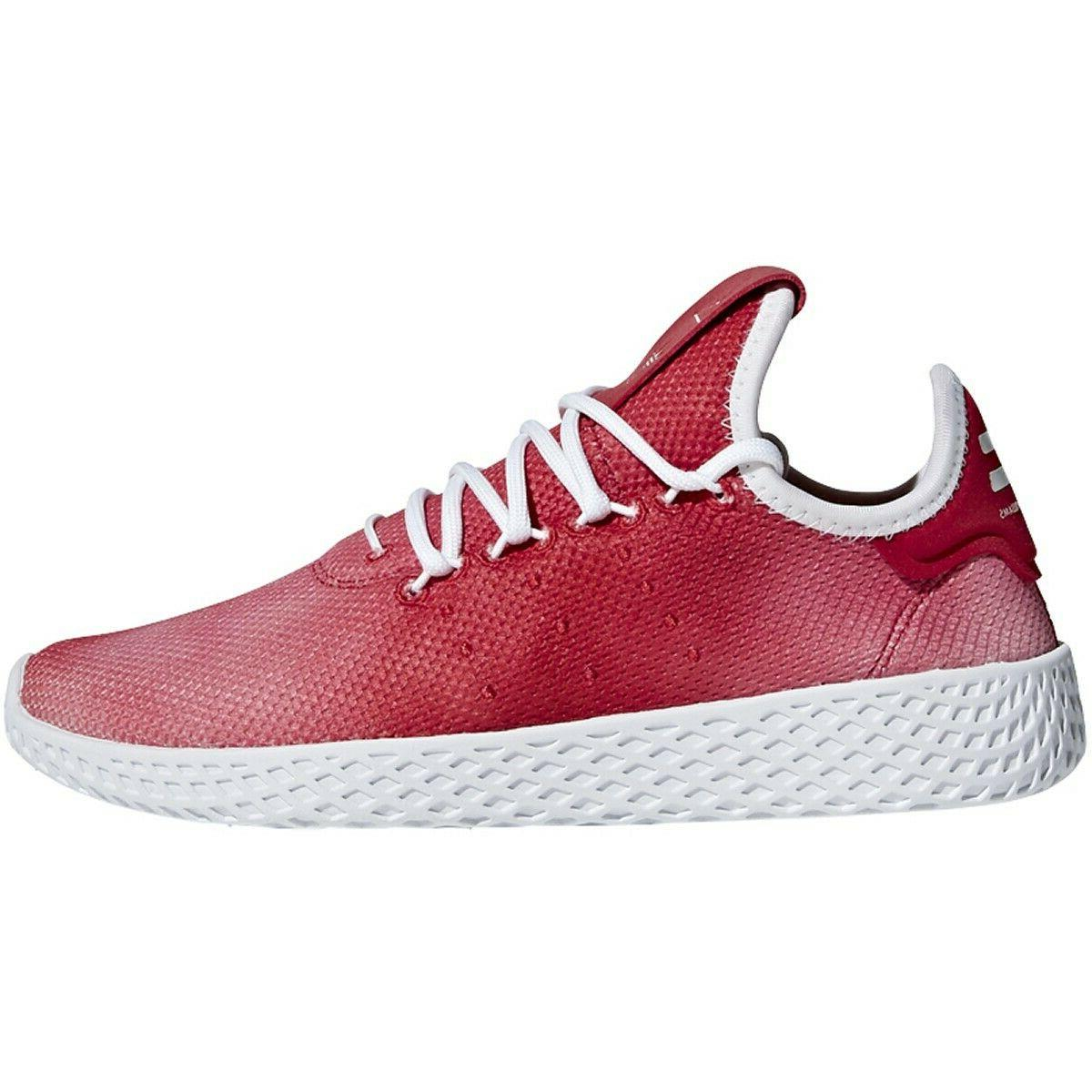 Adidas PW Tennis HU J Big Kids Shoes Scarlet/Footwear White