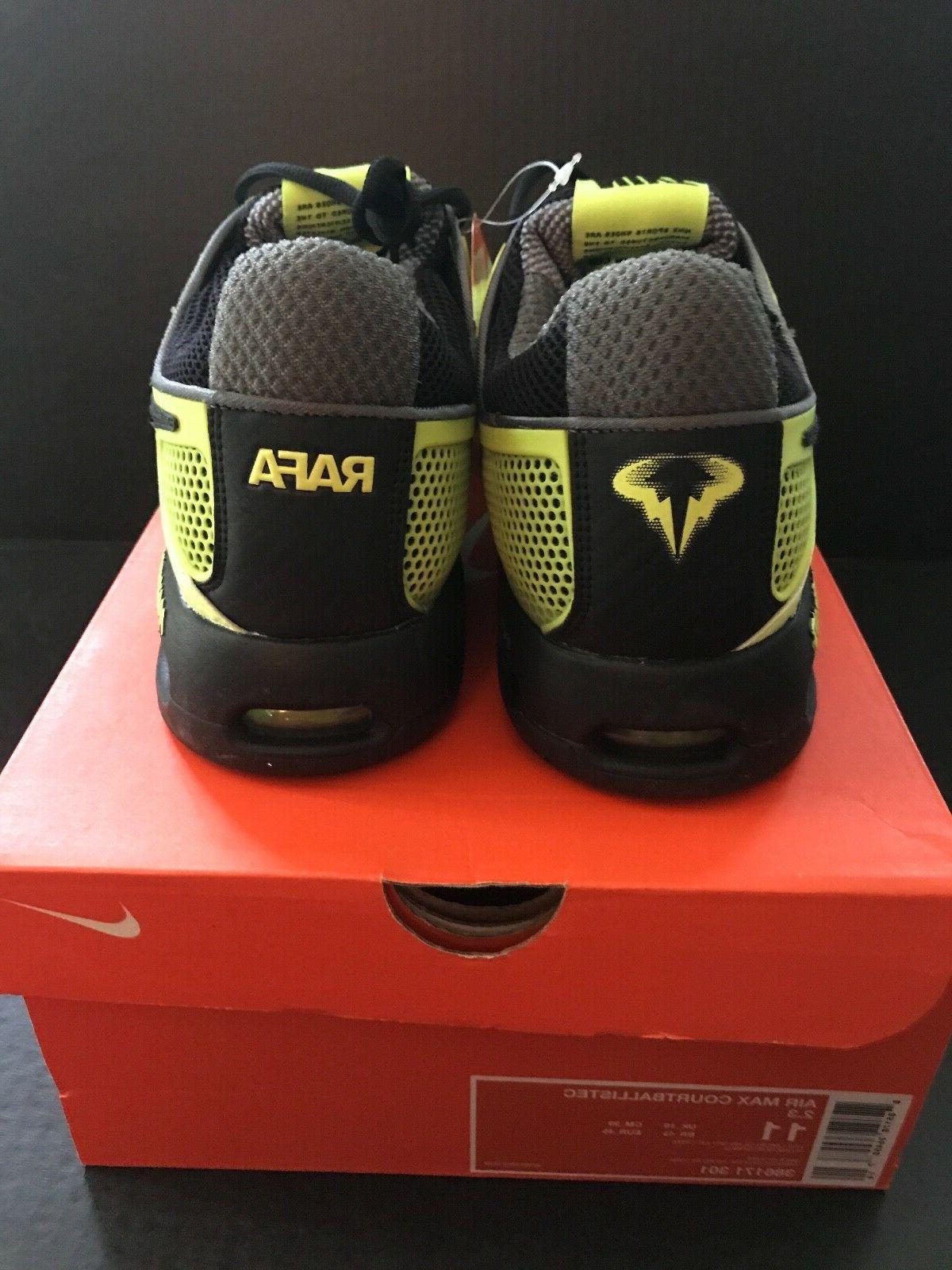 Rafa Nadal Limited Edition 2010 US Open Tennis Shoe Size 11
