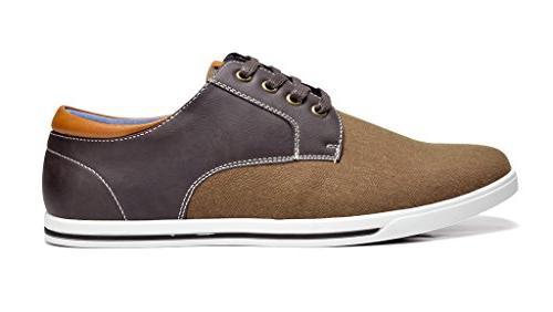 Bruno Dark Brown Oxfords Sneakers - M US