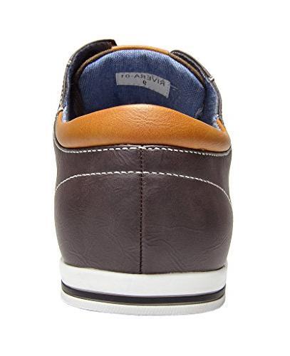 Bruno Dark Oxfords Sneakers - M US