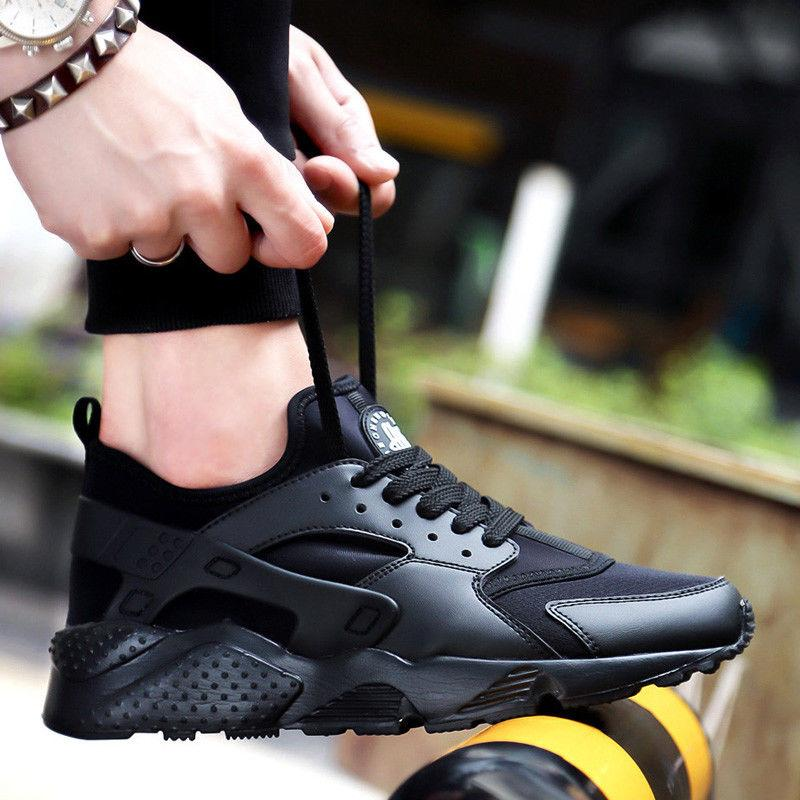 Men's Sneakers Breathable Running Sport Tennis US