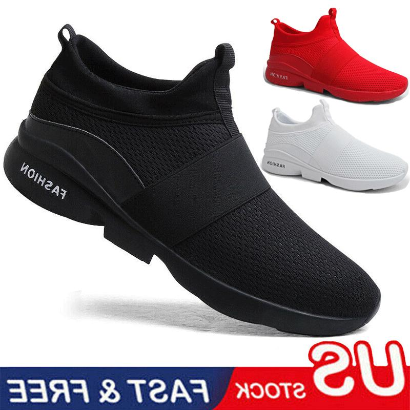shoes men s running lightweight casual breathable