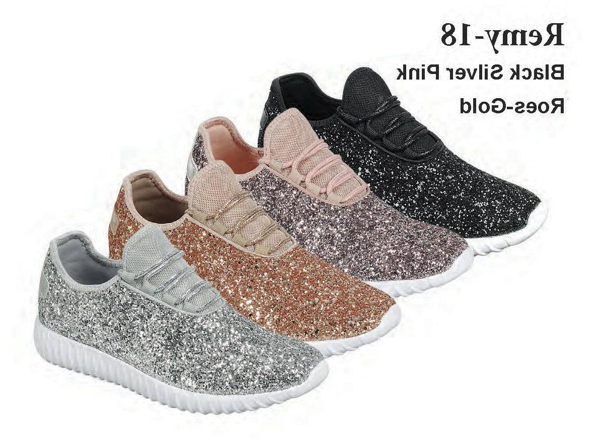 size 5 11 women sequin glitter sneaker