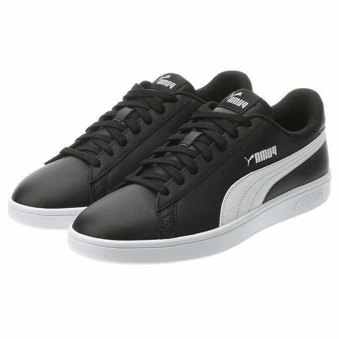 PUMA V2 Tennis Leather Sneakers Shoe Basics