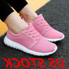 Sneakers Womens Casual Breathable Mesh Tennis Shoes Fitness