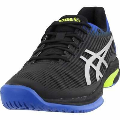 solution speed ff casual tennis shoes black