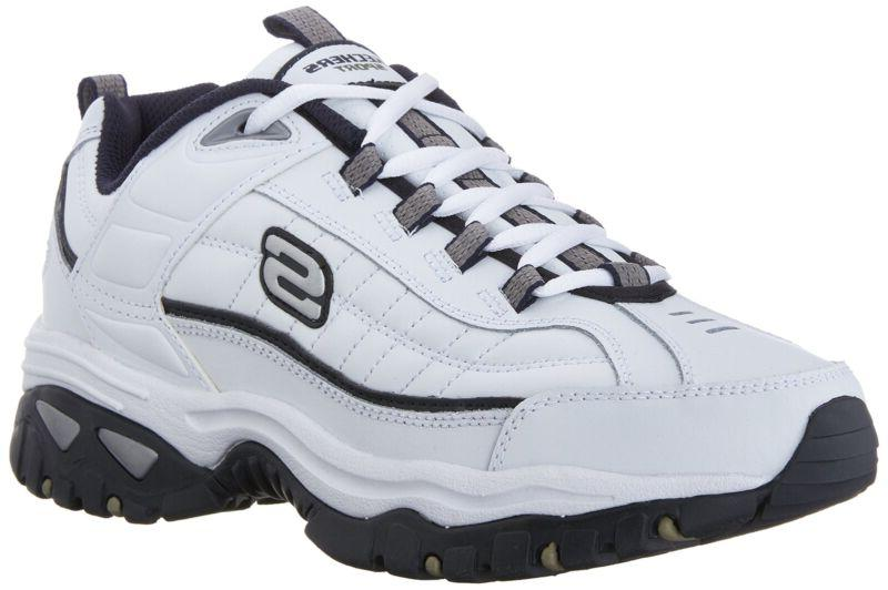 Skechers Sport Men's Energy Afterburn Lace-Up Sneaker White/