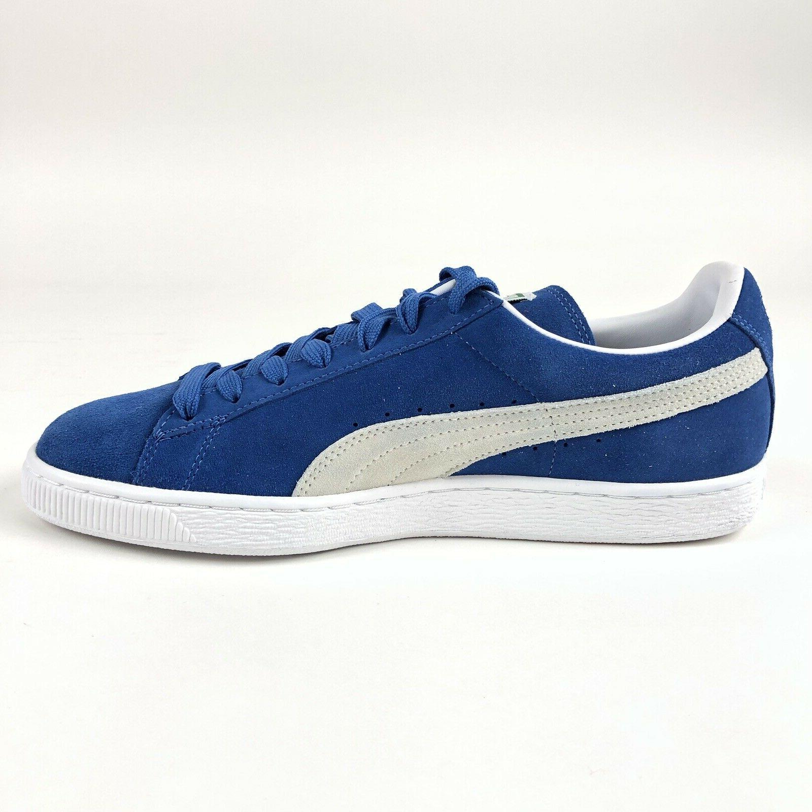 Puma Olympia Blue Low Tennis Shoes Size 12 Shoes