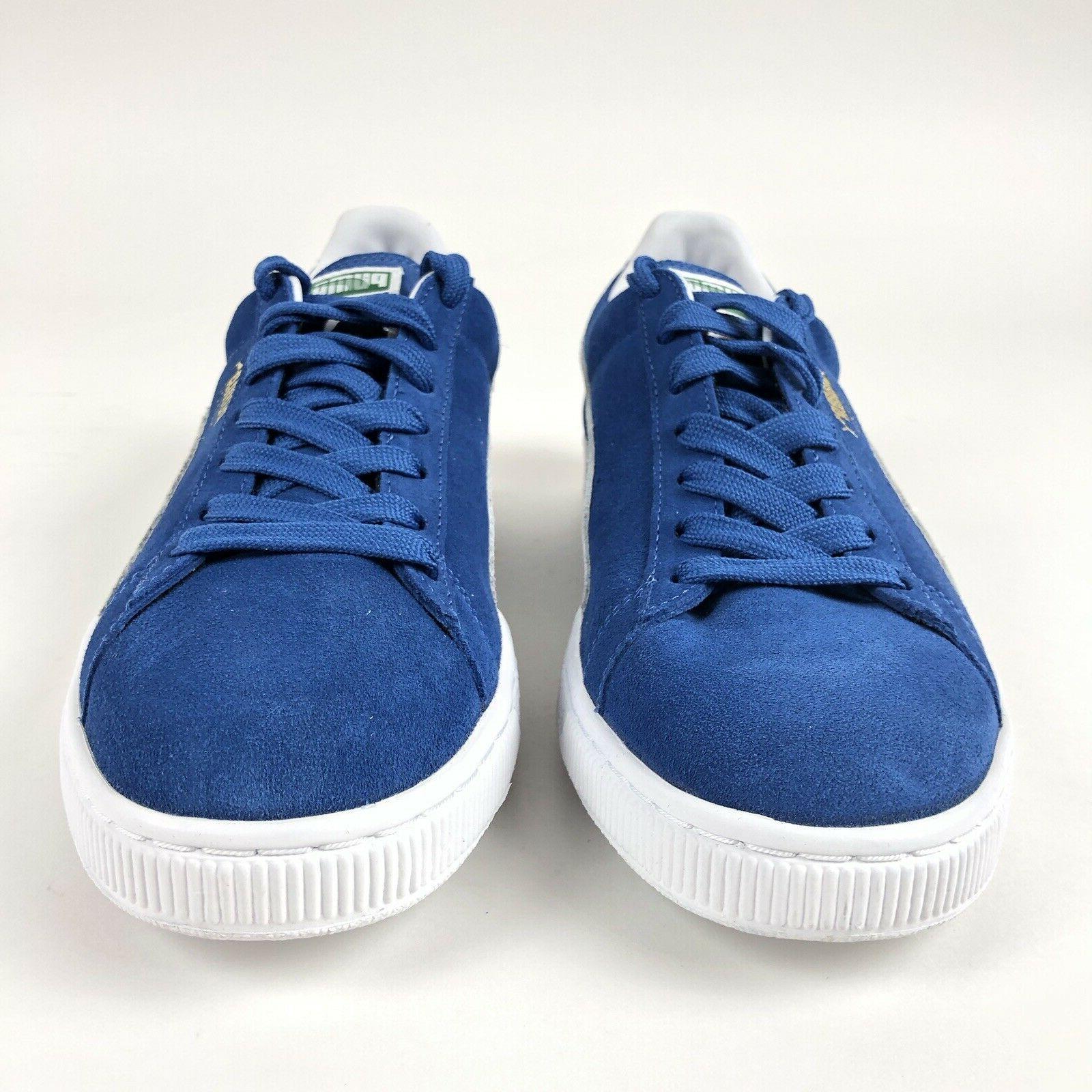Puma Classic Blue Low Tennis Shoes Size 12 Shoes