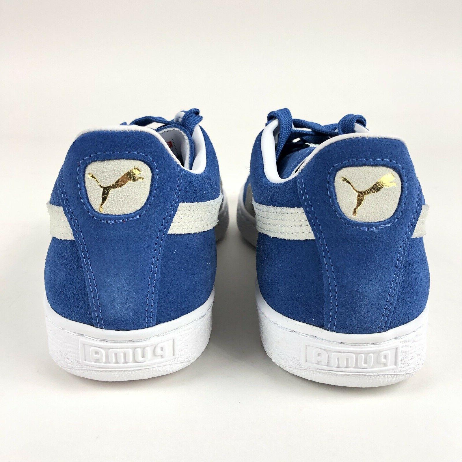Puma Blue Low Shoes Size 352634-64