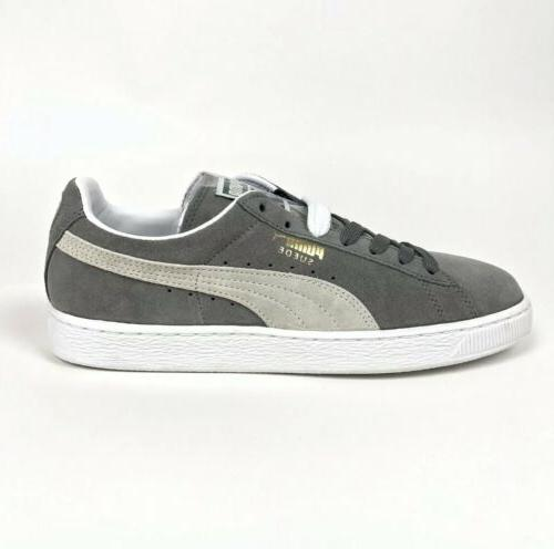 Puma Suede Classic Steeple Gray Tennis Size 352634-66