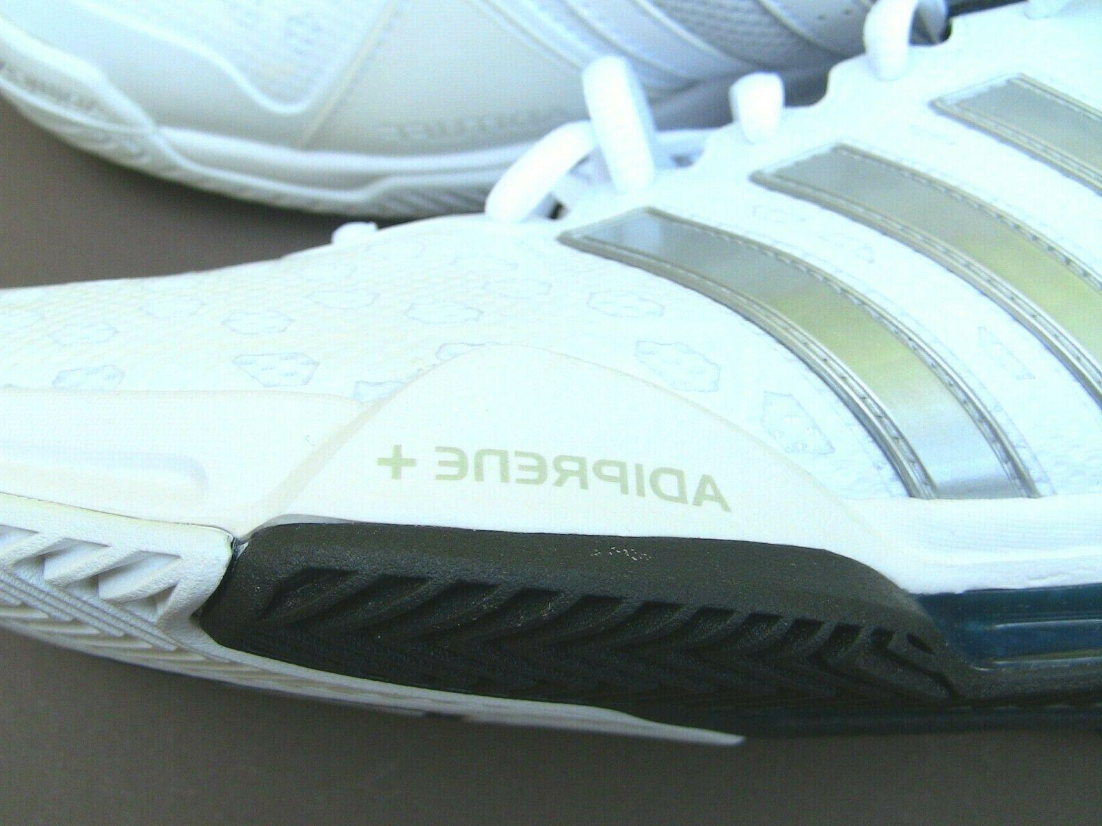 Tennis shoes brand new in box Addidas Barricade Club !0