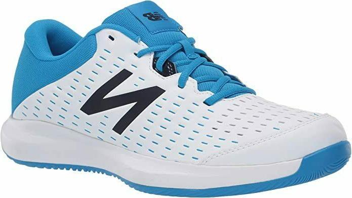 tennis shoes mch696r4 white blue size 10