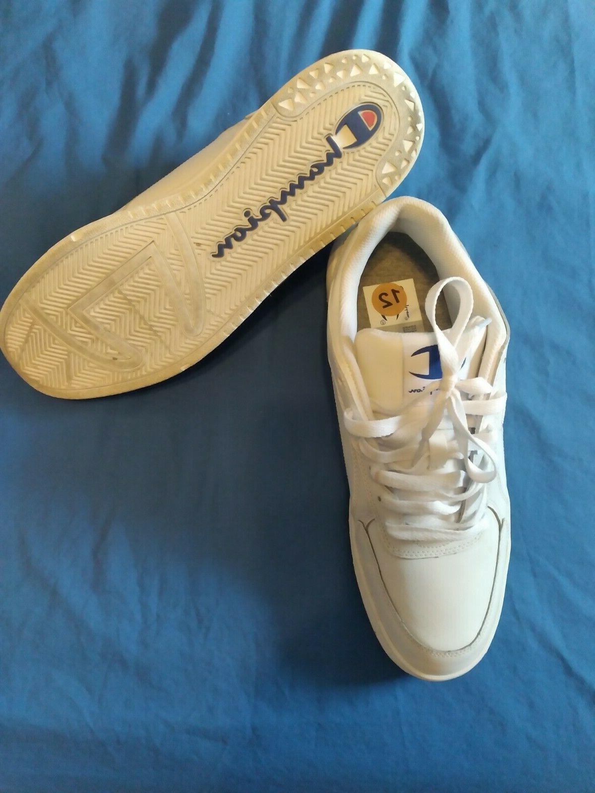 champion tennis shoes white size 12