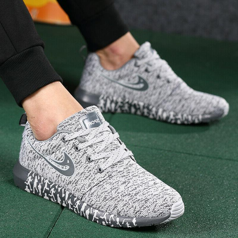 US Running Athletic Sneakers Breathable
