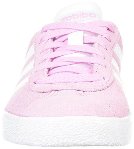 adidas Kids' Court 2.0 Frost Ftwr White, 3 US Little Kid