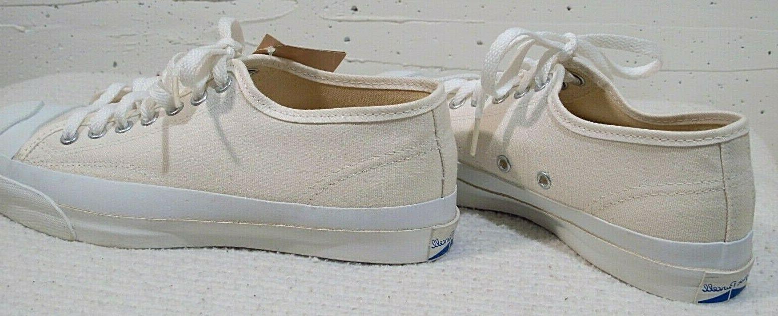 Vtg White Jack Purcell Shoes w/ US 6.5 USA