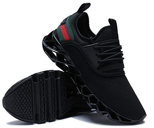 UMYOGO Mens Walking Sports Shoes Running Blade Shoes