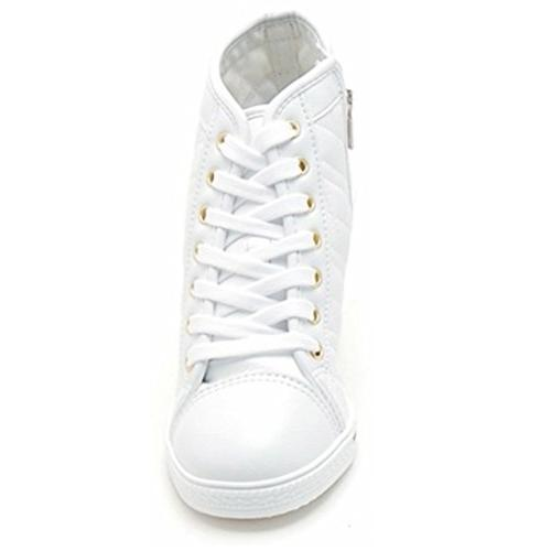 Epicsnob Shoes White Lace Sneakers 8