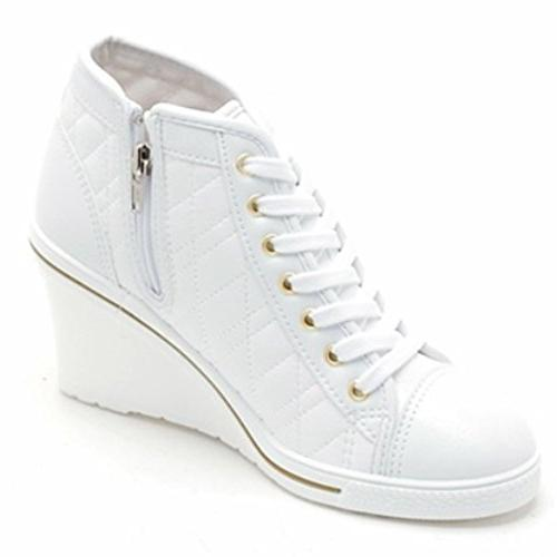Epicsnob High Simple Lace Sneakers M