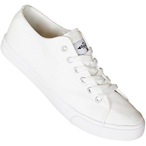 white tennis canvas sneakers