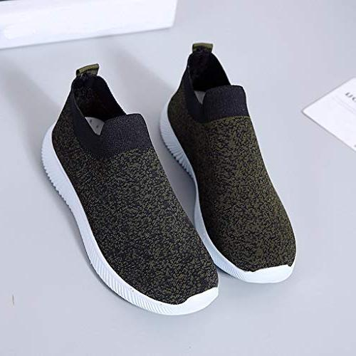 Women Mesh Shoes Breathable Fitness Sneakers Soles Shoes