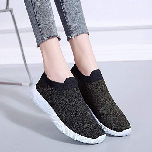 Women Walking Shoes Breathable Running Fitness Soles Shoes