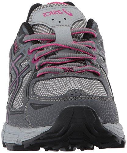 ASICS Gel-Venture 6 Running-Shoes,Carbon/Black/Pink Peacock,8