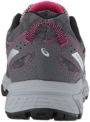 ASICS Women's Gel-Venture 6 Running-Shoes,Carbon/Black/Pink