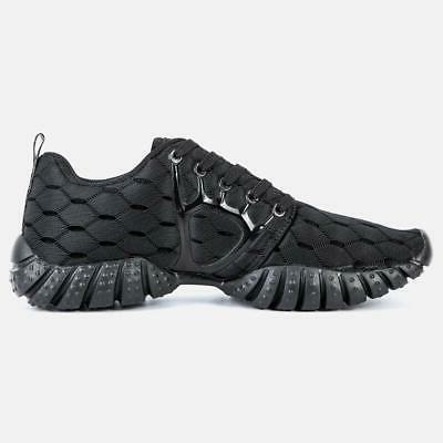 ALEADER Lightweight Sport Running Shoes Black 8