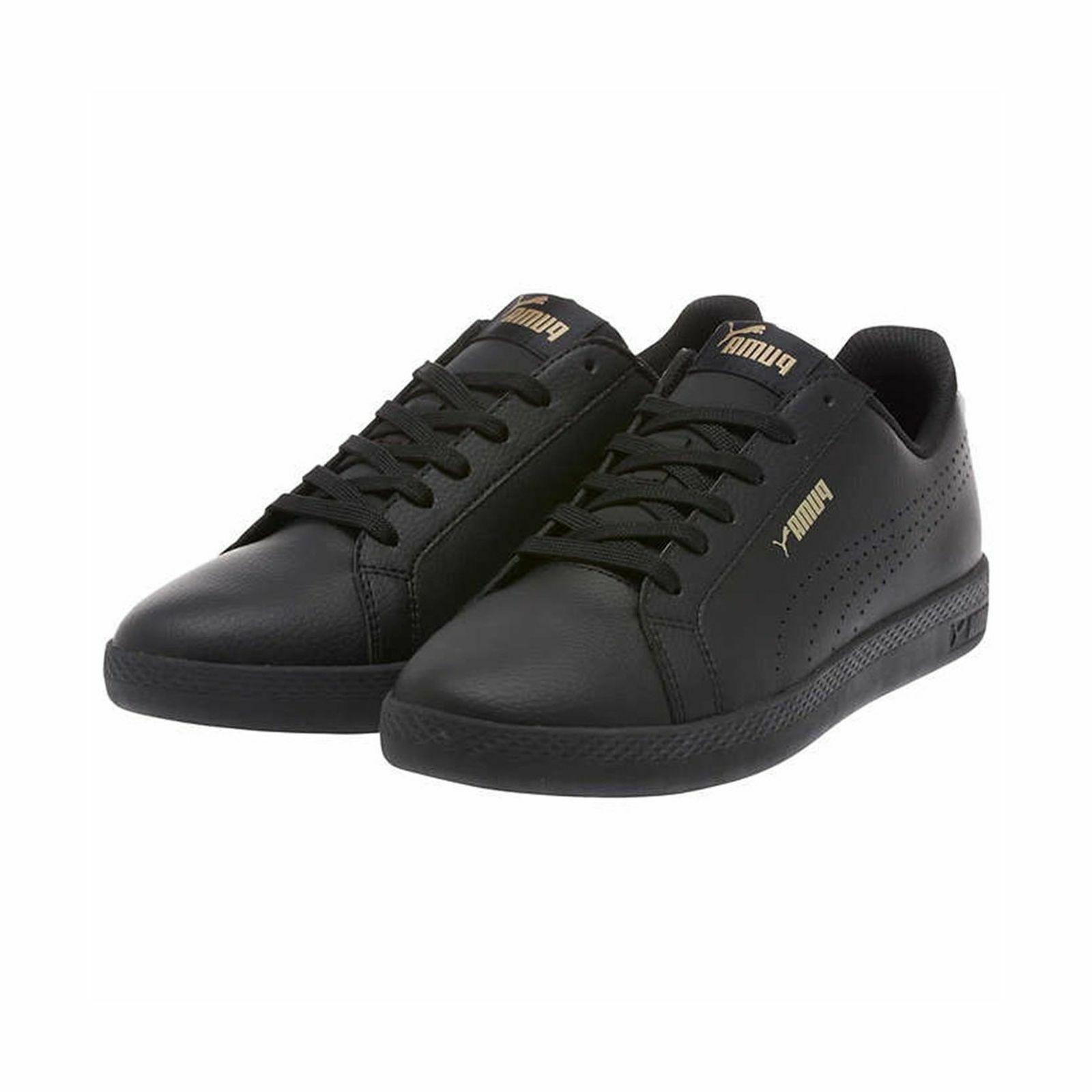 PUMA Women's Smash Leather Sneakers Shoes