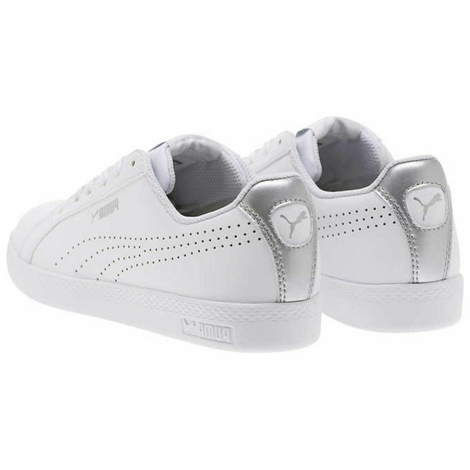 PUMA Women's Leather Tennis Shoes