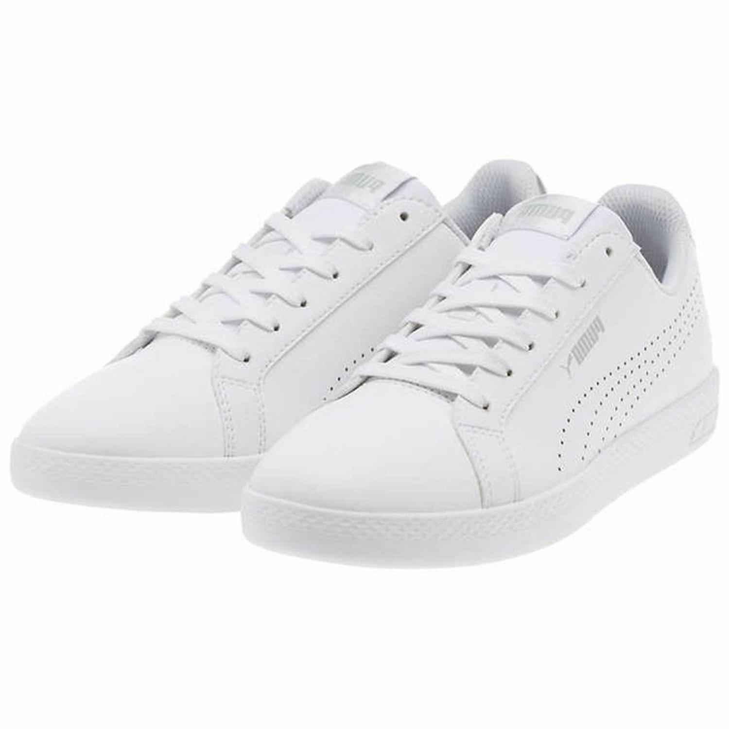 PUMA Smash Leather Metallic Shoes