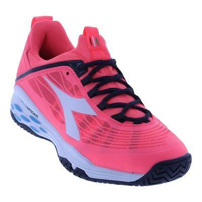DIADORA - Women`s Speed Blushield Fly Ag Tennis Shoes Fluo C