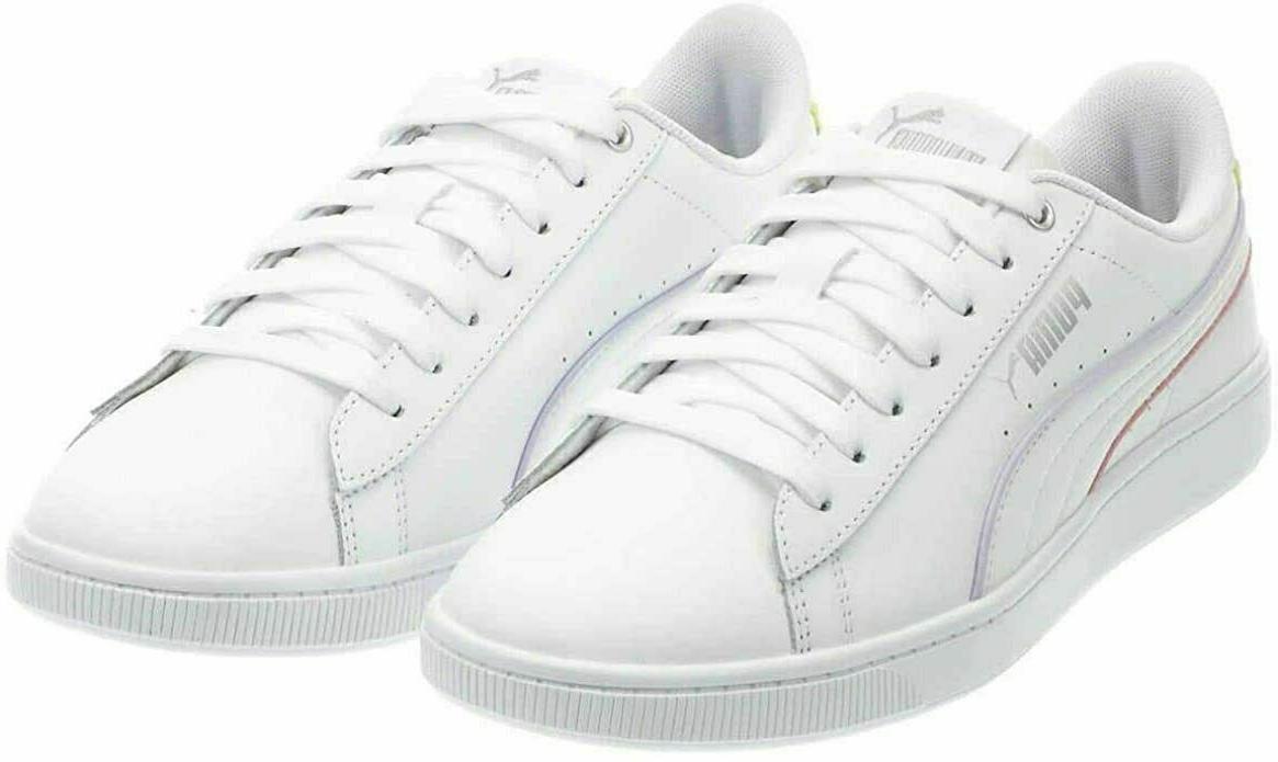Puma Women's Sz 6.5 Vikky V2 Sneaker - Ladies Tennis Shoes,