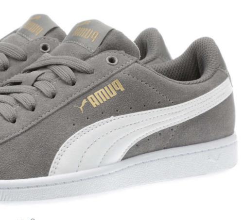 Puma Gray Suede Tennis