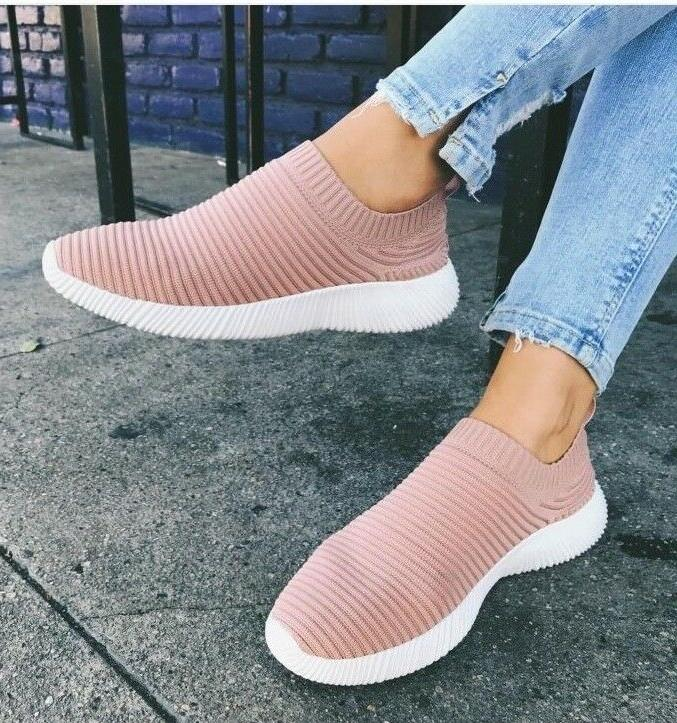 Women Slip-On Sneakers Tennis Comfortable Walking  Shoes Ult