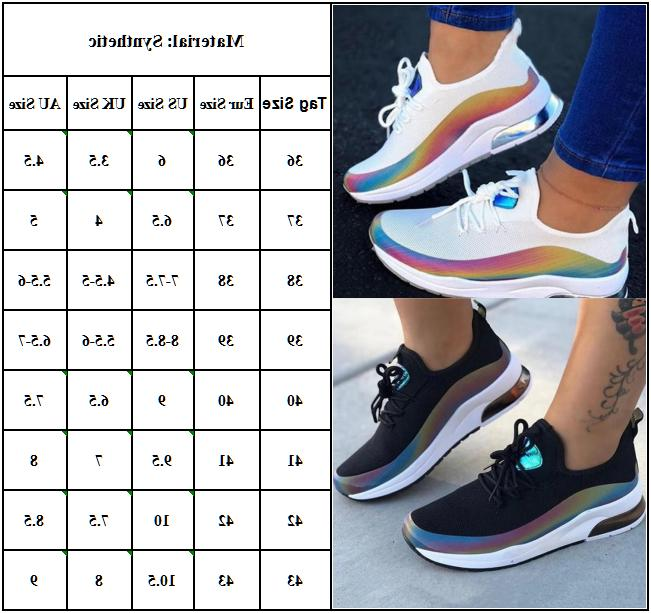 Womens Sneakers Trainers Sport Mesh Running Shoes Size