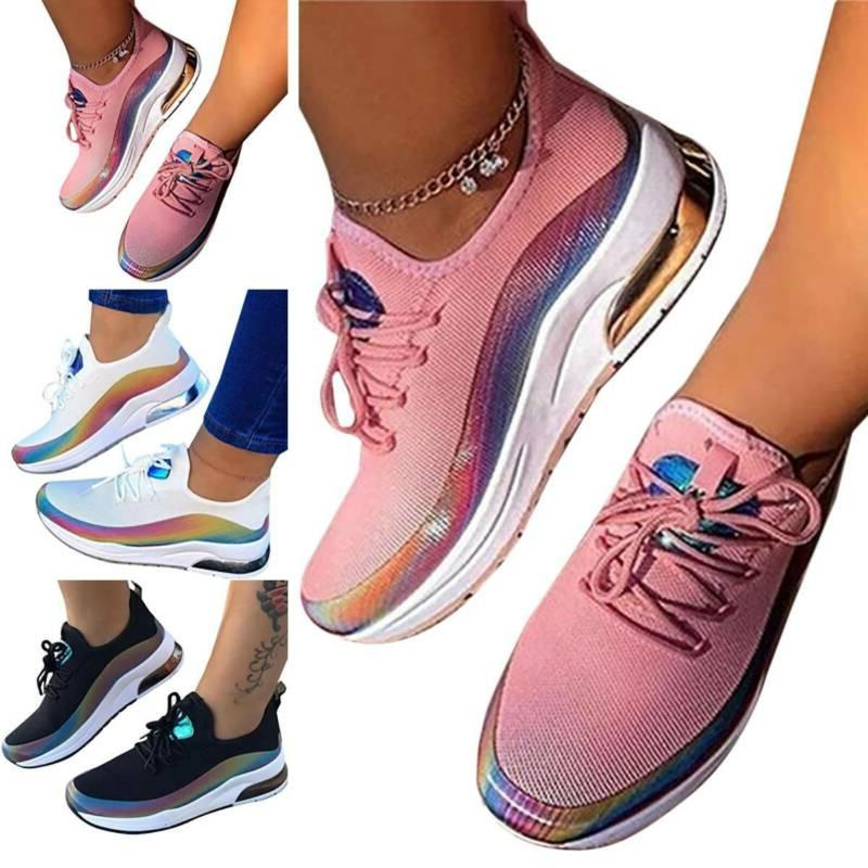 womens walking sneakers breathable trainers sport mesh