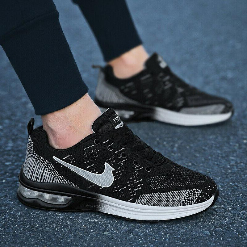 Womens Flyknit Cushion Shoes Casual Athletic Running