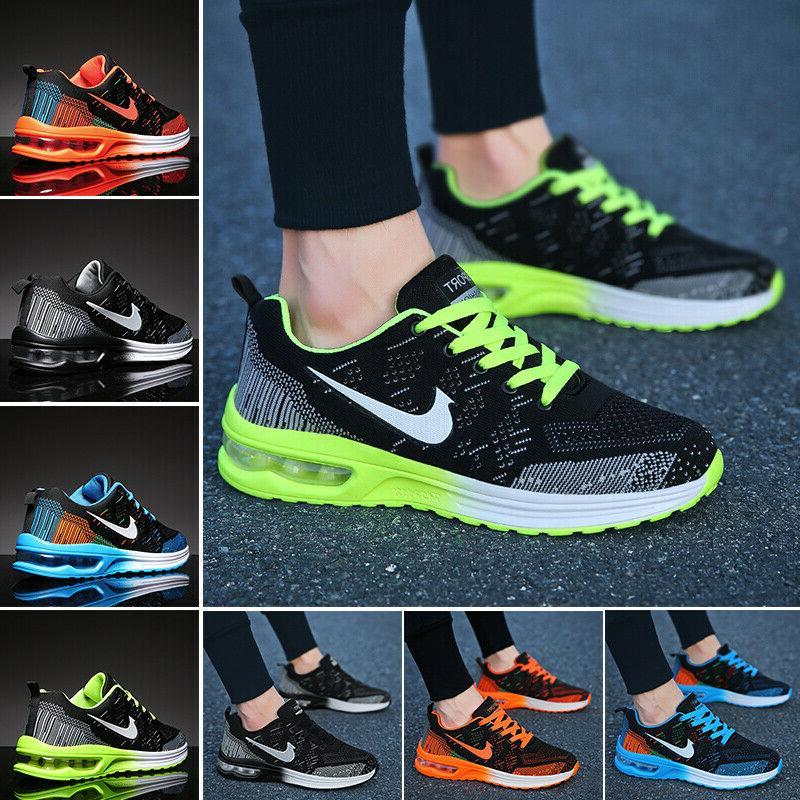 womens flyknit sneakers air cushion tennis shoes