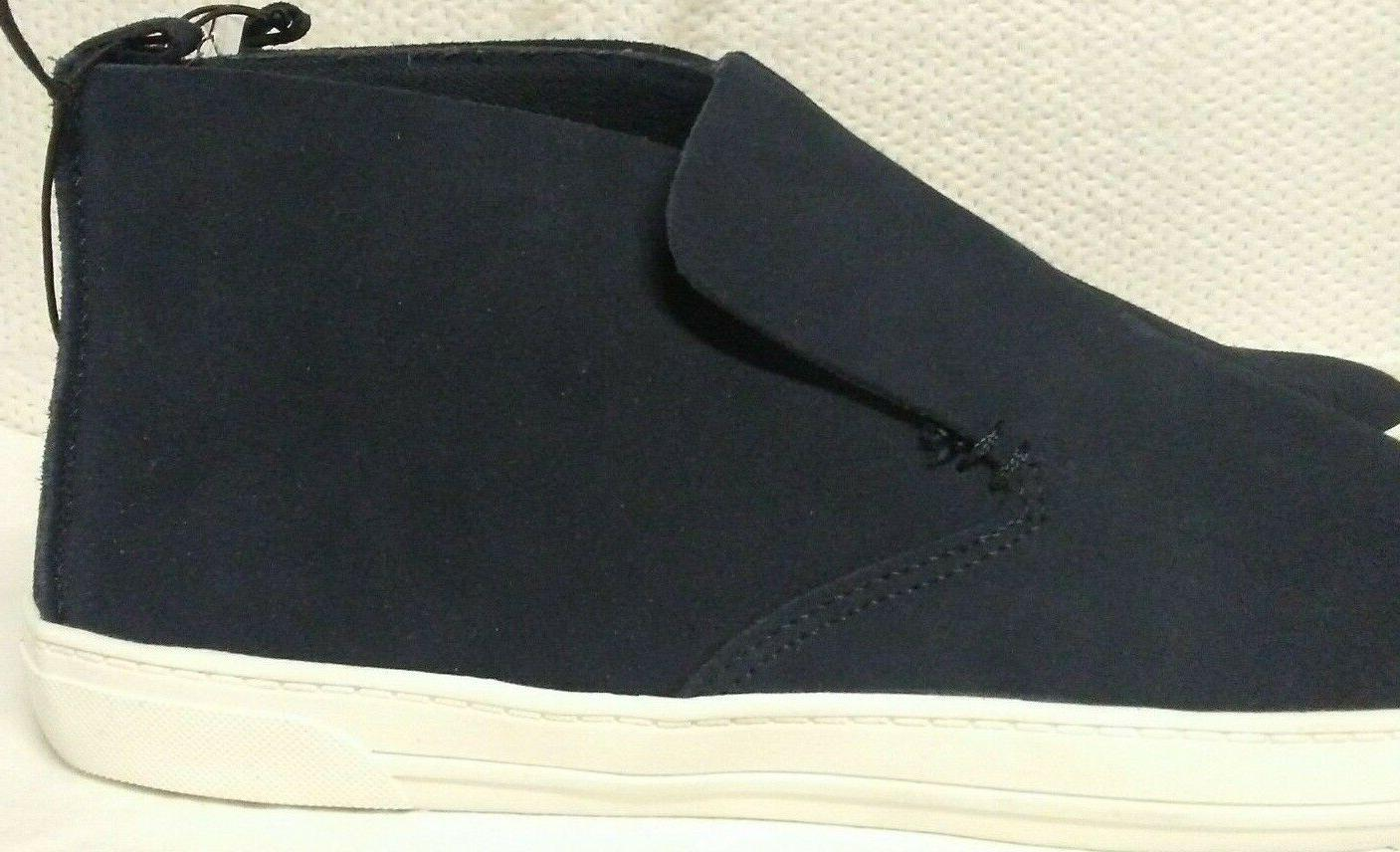 BLUE HIGH TOP ANKLE TENNIS 10 BRAND