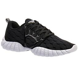 ALEADER Women's Lightweight Mesh Sport Running Shoes Black 8
