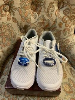 Champion Memory Foam Tennis Shoes White, Size 2 and 1/2, NEW