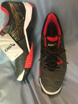 ASICS Men Gel-Resolution 6 Tennis Shoes Size 9 in Castlerock