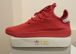 Men Adidas Pharrell Williams PW Tennis Hu BY8720 Red sizes