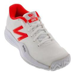 ecfb4e1f84cdd1 NEW BALANCE - Men`s 996v3 D Width Tennis Shoes White and Fla