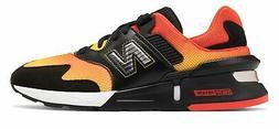 New Balance Men's 997 Sport Shoes Black with Orange